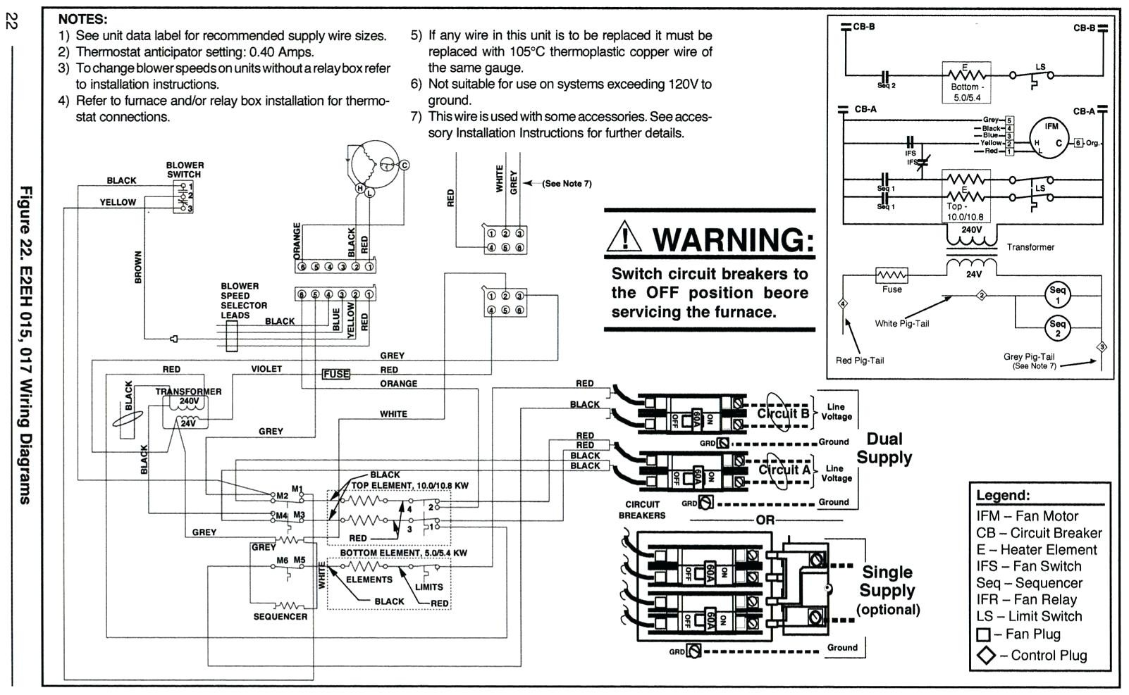 Full Size of Goodman Furnace Thermostat Wiring Diagram Electrical Electric Parts With D Archived Wiring