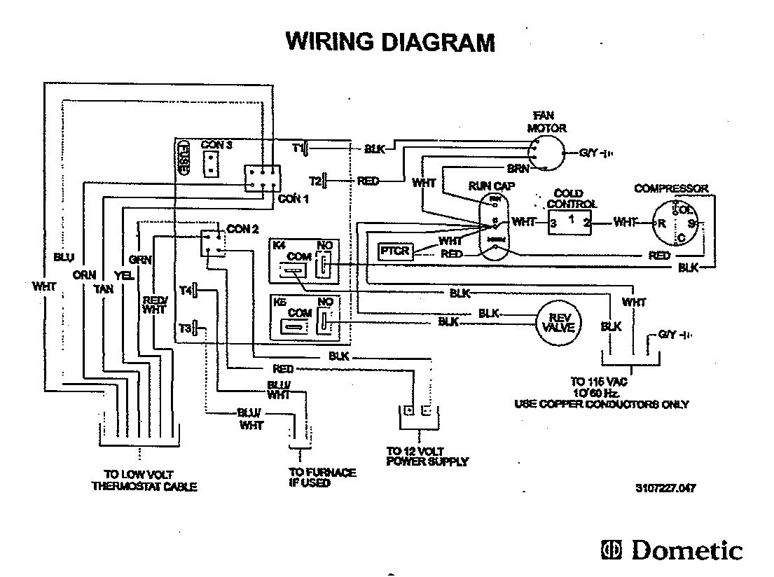 Duo Therm Thermostat Wiring Diagram Coleman Mach Air Conditioner