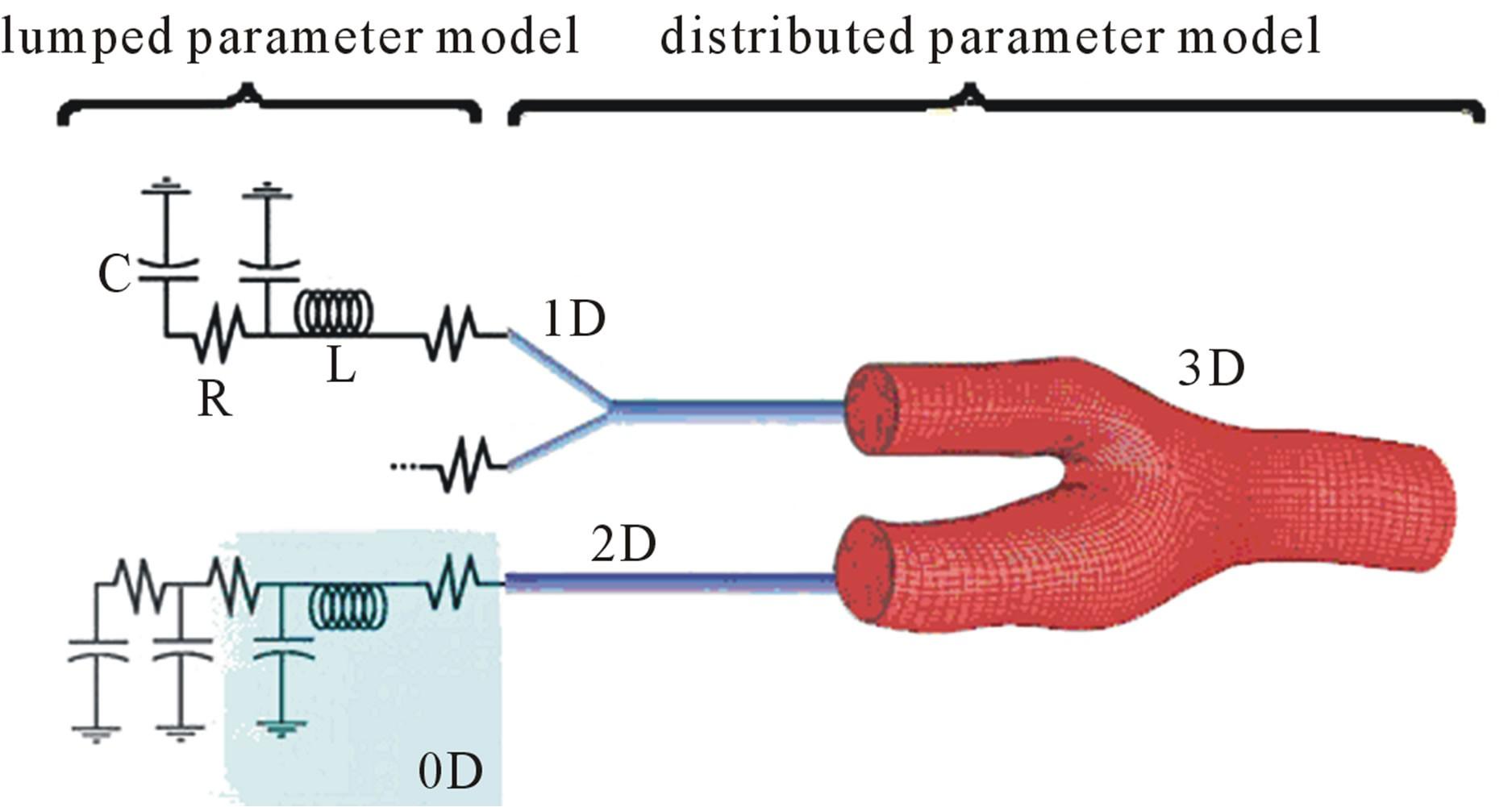 Schematic representation of decoupling by segmental dimension reduction