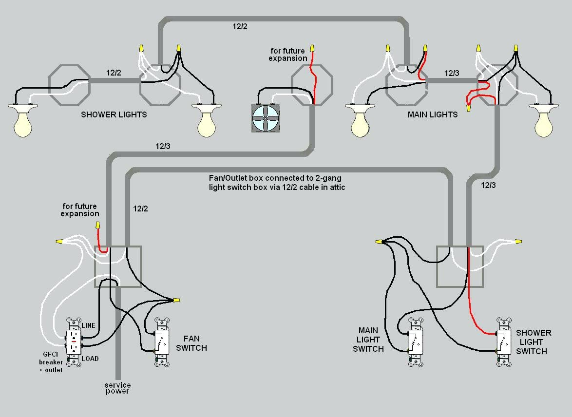 Light Wiring Diagrams Multiple Lights - Diagram Schematic