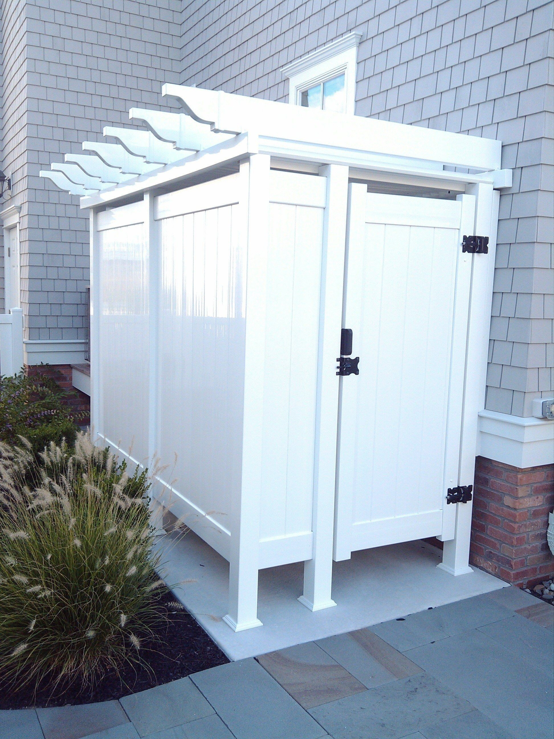 Outdoor Shower Enclosures Gallery