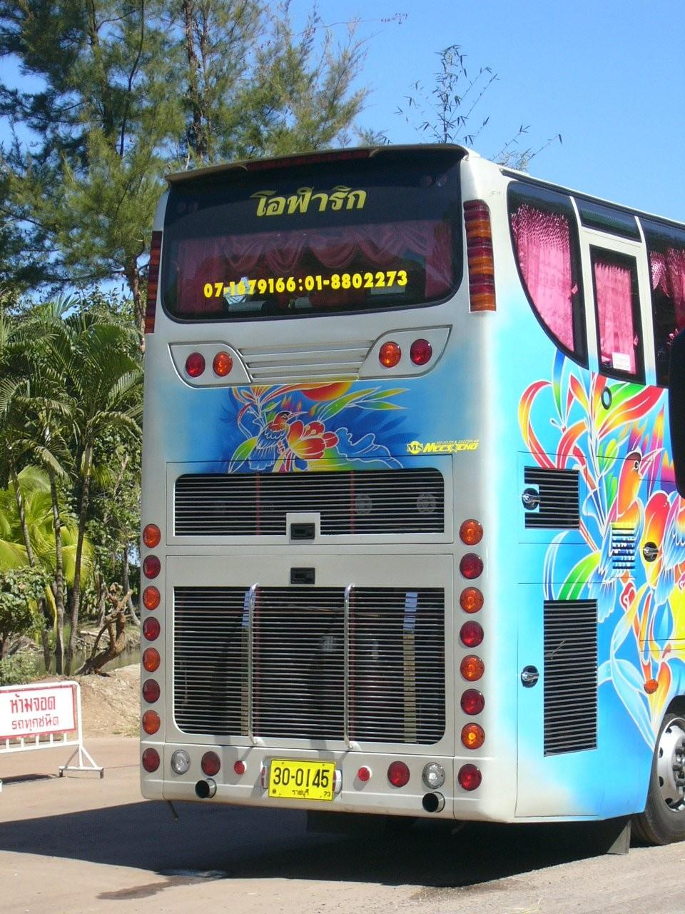 Reisebus Heck