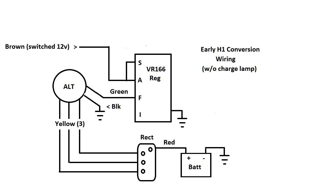 delco 10si alternator wiring diagram