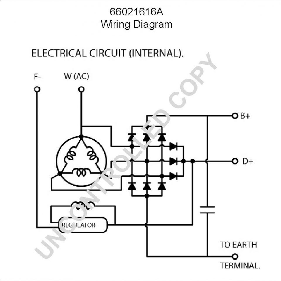 Delco Remy 10si Wiring Diagram Solutions 1 Wire Alternator Image