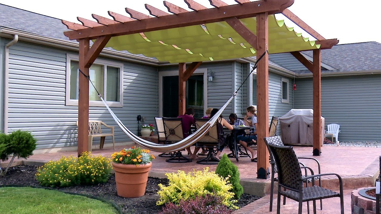 Do It Yourself Outdoor Canopy Fresh How to Make A Slide Wire Hung Canopy Pergola Canopy
