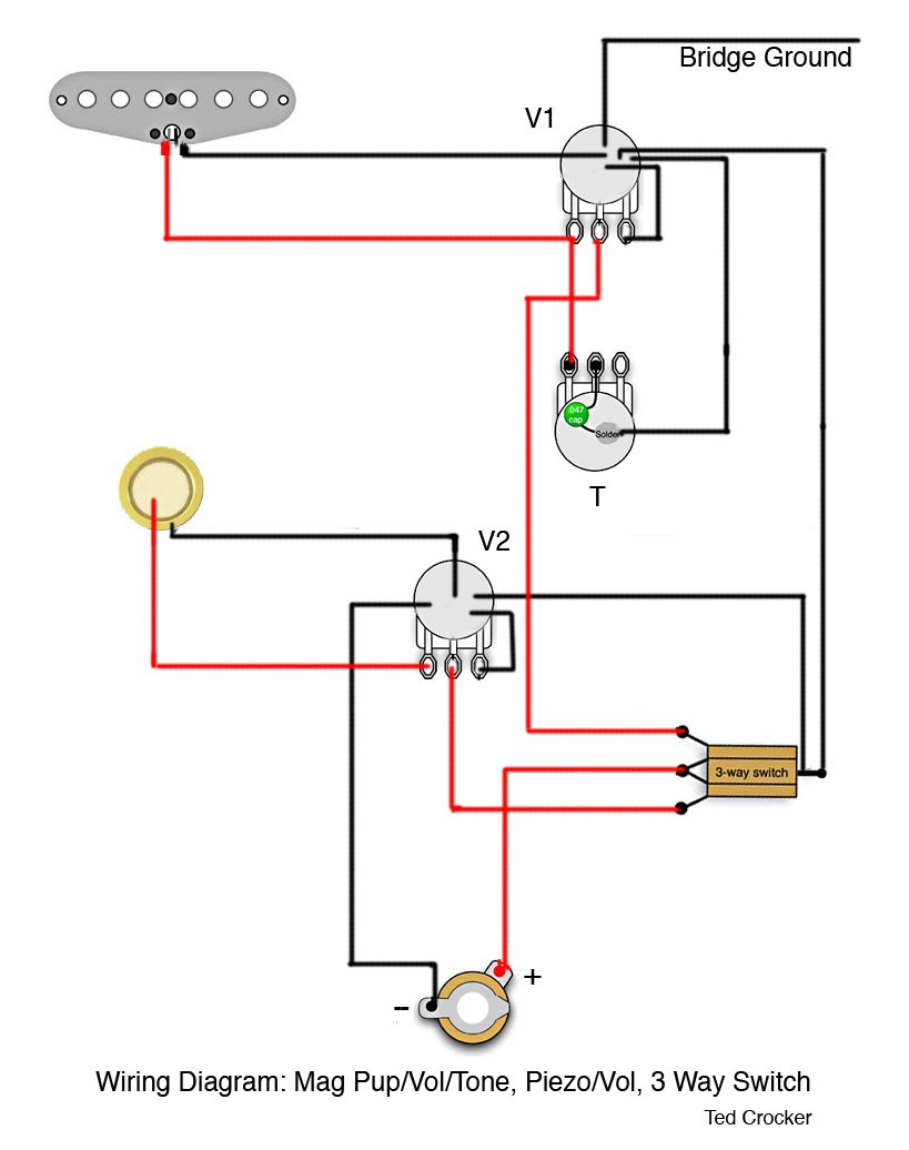 Diy guitar wiring diagrams