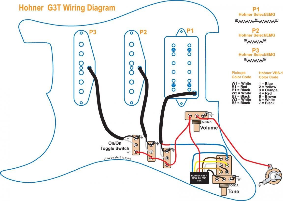 Paul Reed Smith Custom 24 Wiring Diagram