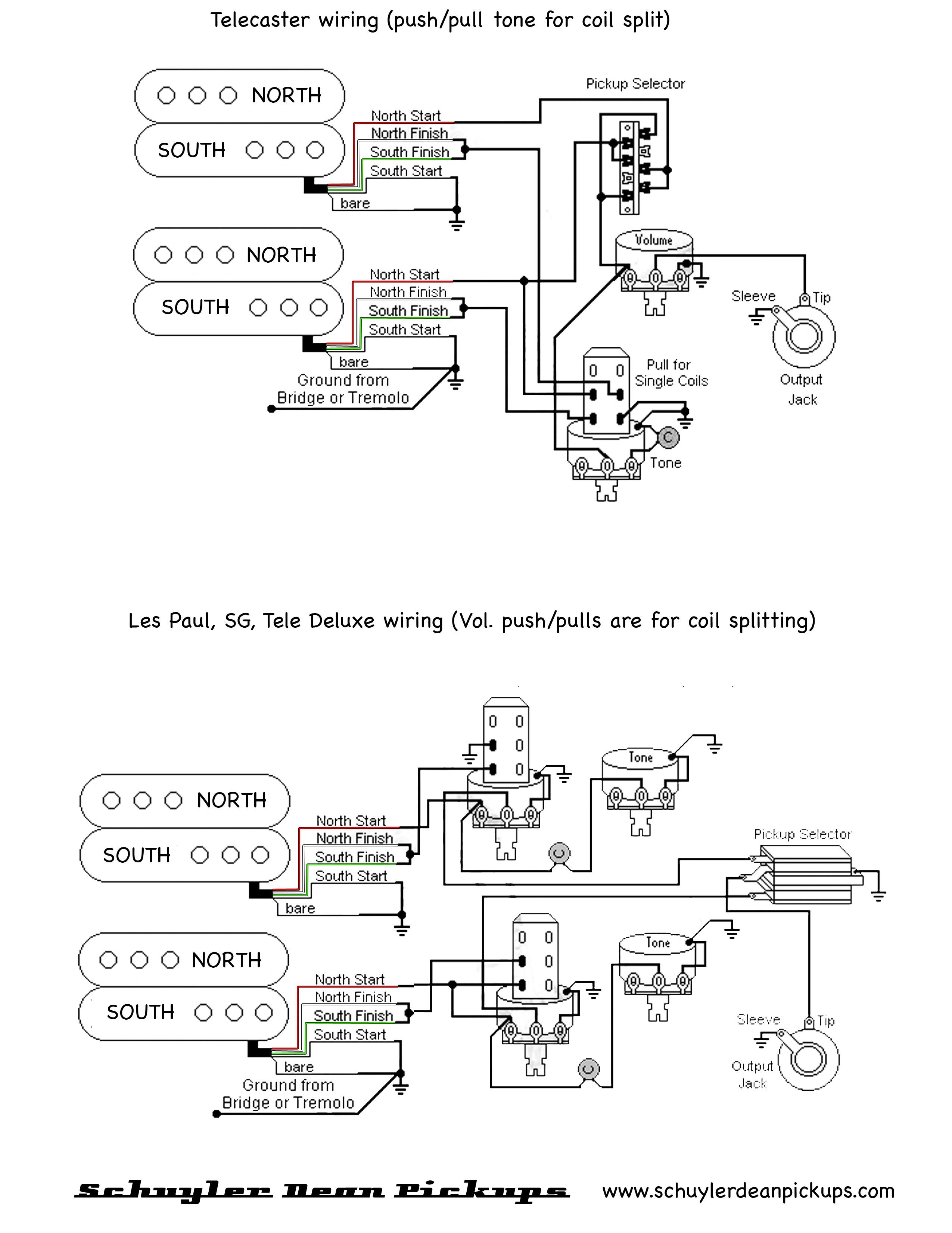 GuitarHeads Pickup Wiring Active Pickups Bright Humbucker Diagram