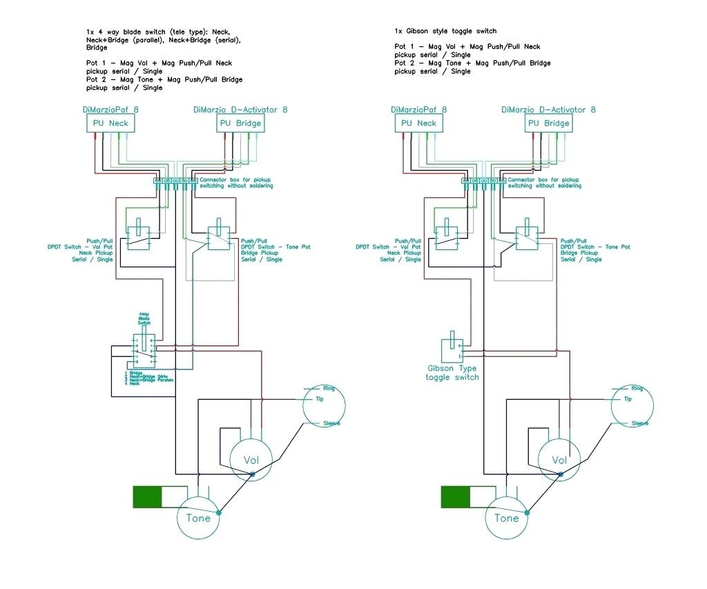 Dragonfire Pickups Wiring Diagram | Wiring Liry on