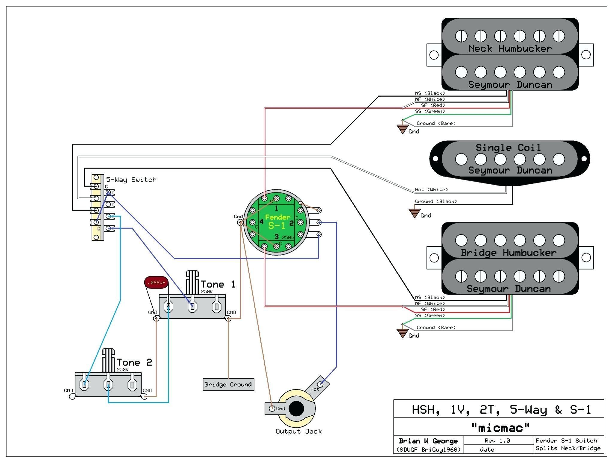 Humbucker Wiring Diagram Fresh Emg 81 85 Wiring Diagram 2 Volume 1 tone Pressure Switch Well