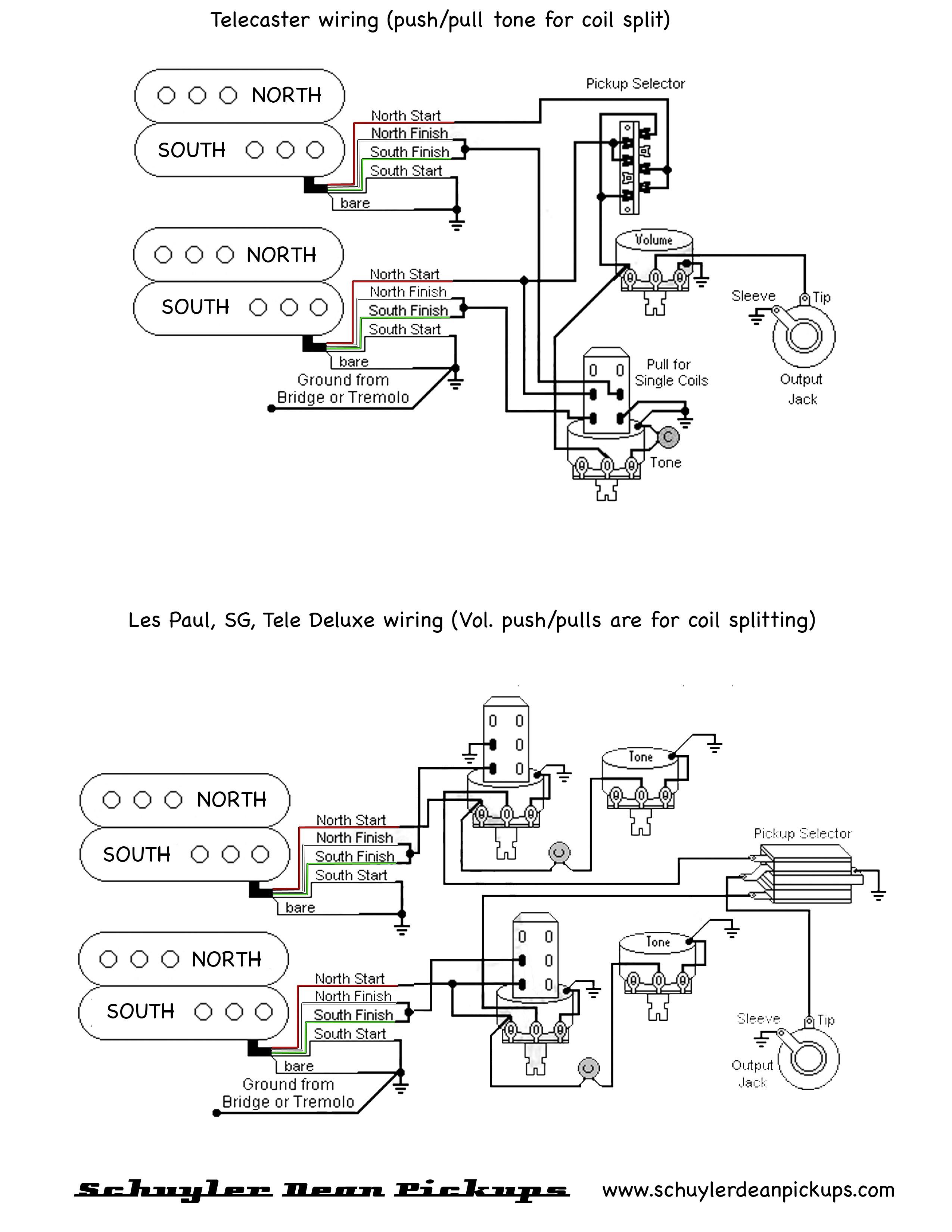 Niedlich Dual Humbucker Schaltplan Thinline Bilder - Elektrische ...