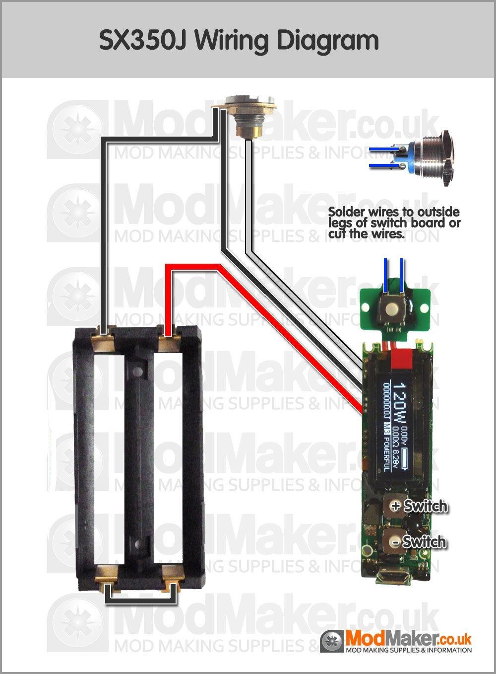 SX350J Wiring Diagram