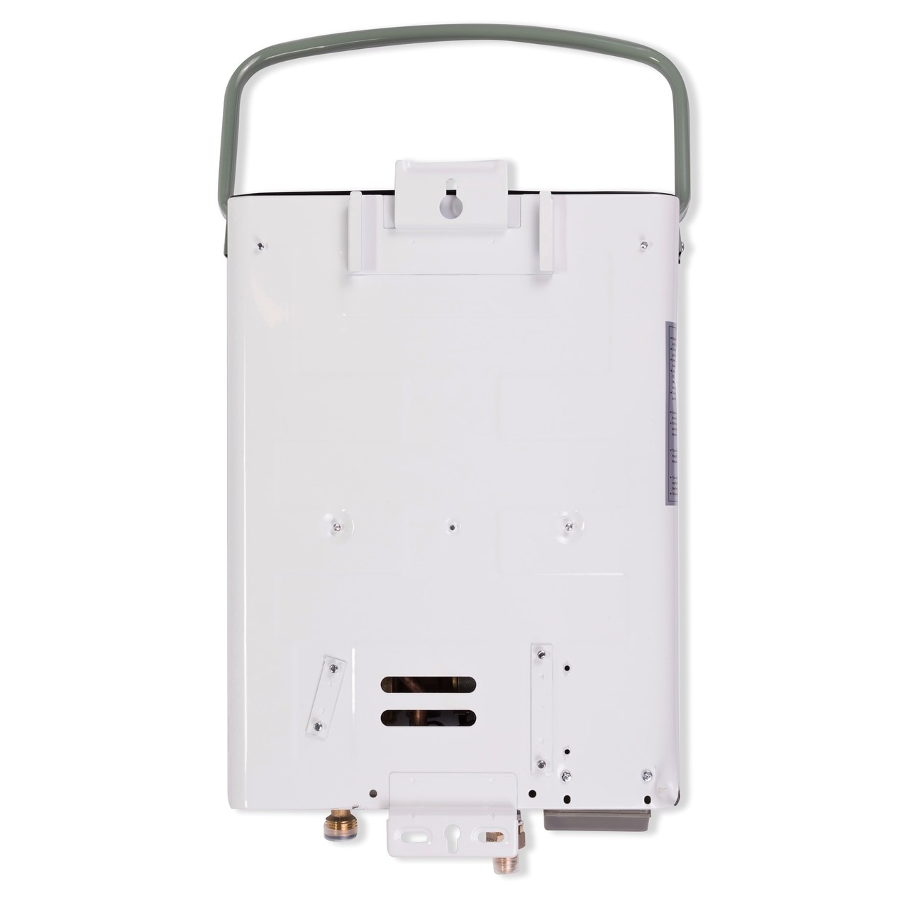 Eccotemp L5 Portable Tankless Water Heater Back View to enlarge