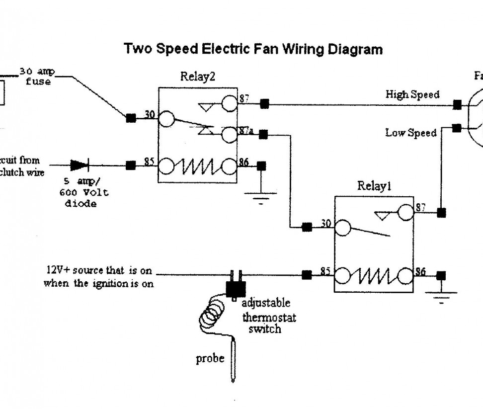 Asahi Electric Fan Wiring Diagram : Dorable electric fan motor wiring diagrams composition