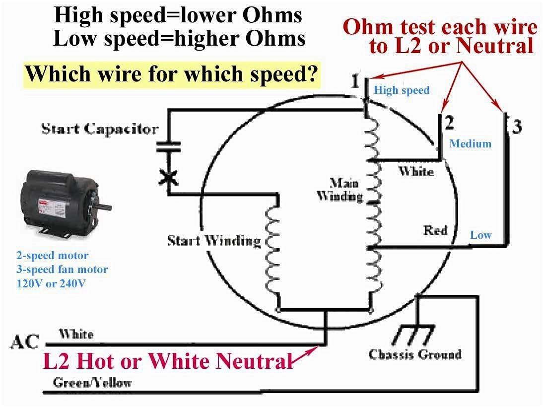 Electric Motor Wiring Diagram Run Capacitor Phase To Ac Book Start 1224