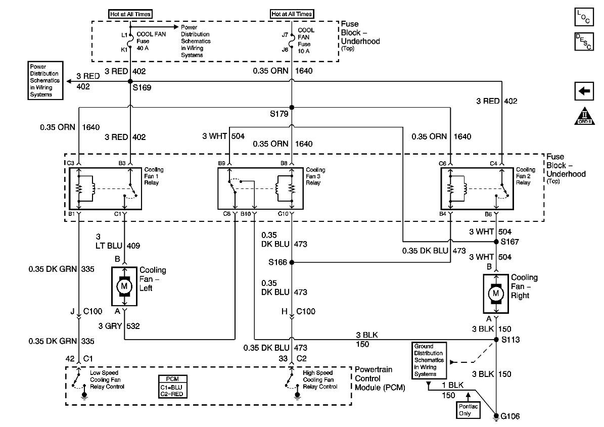 Camaro cooling fan wiring diagram jpg 1195x845 Automotive cooling fans  wiring