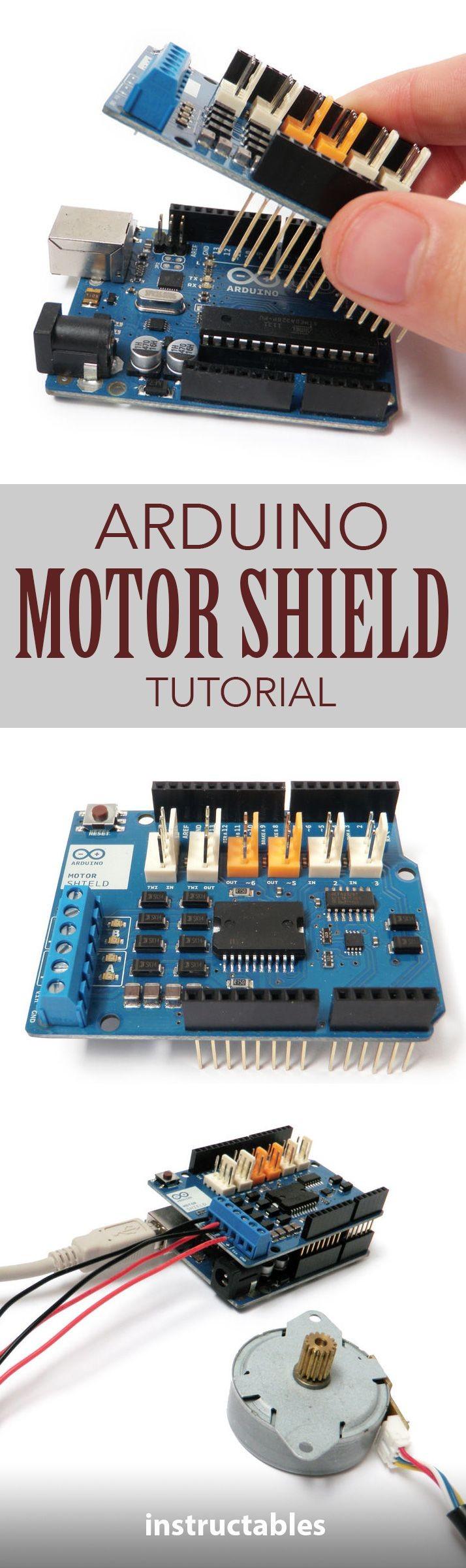 Arduino Motor Shield Tutorial
