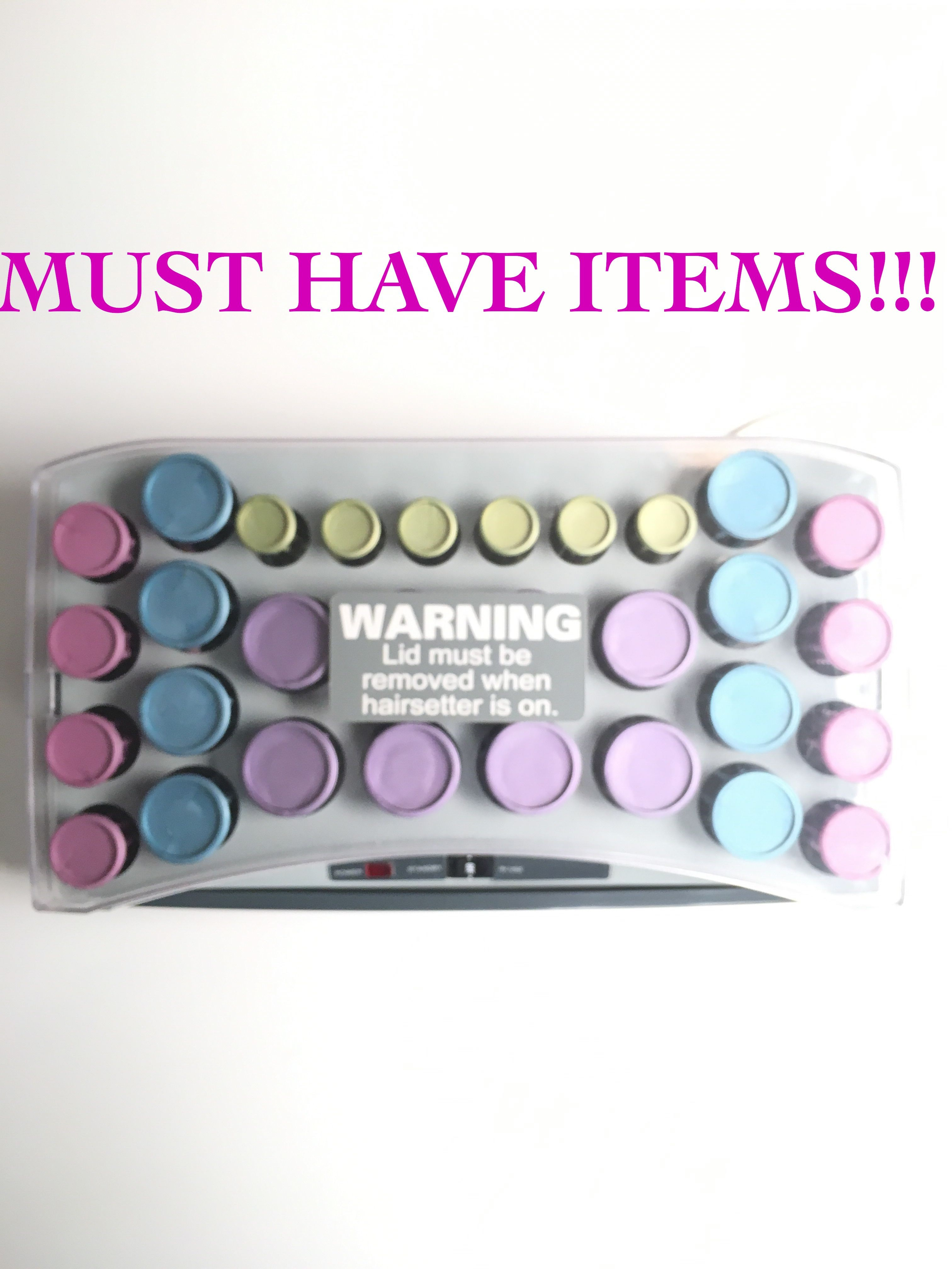 Babyliss Pro Nano Titanium Ionic Hair Pageant Hot Rollers WITH CLIPS on eBay