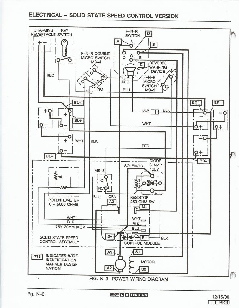 Yamaha Golf Cart Parts Ezgo Wiring 48 Volt Diagram Ez Go Battery