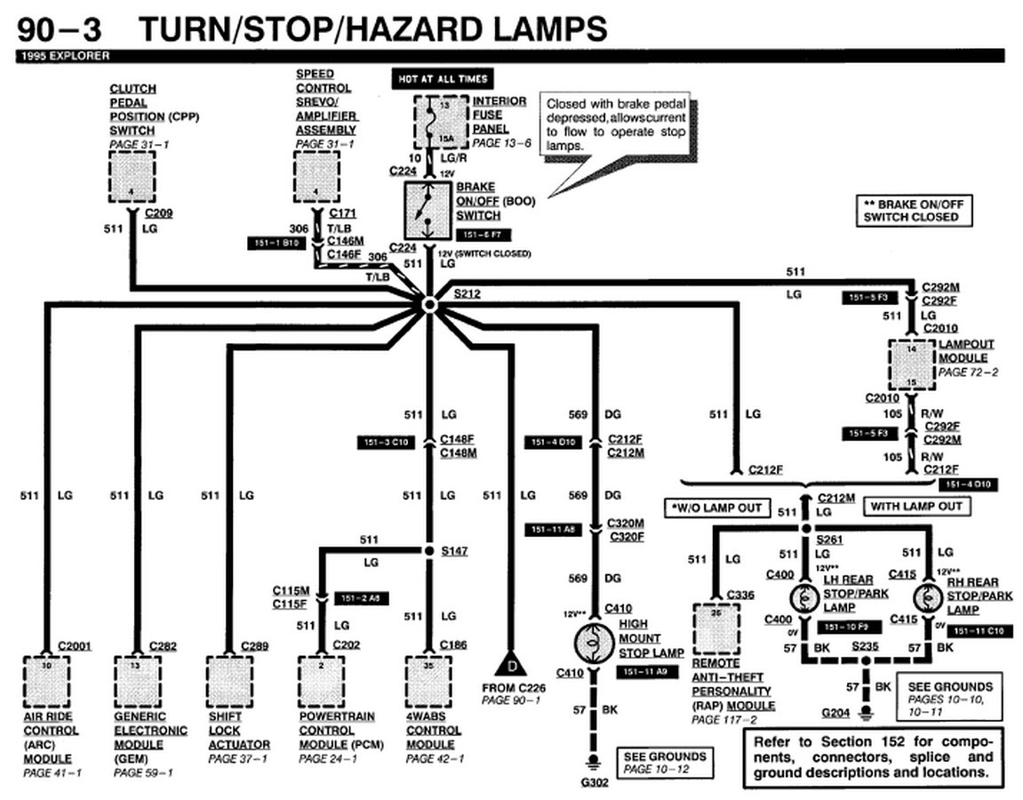 Cute Ford Tail Light Wiring Diagram Inspiration