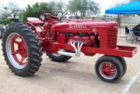 Farmall H Lights Best Of Modified ford V8 Powered 1951 Farmall H Pulling the Sled Glendale