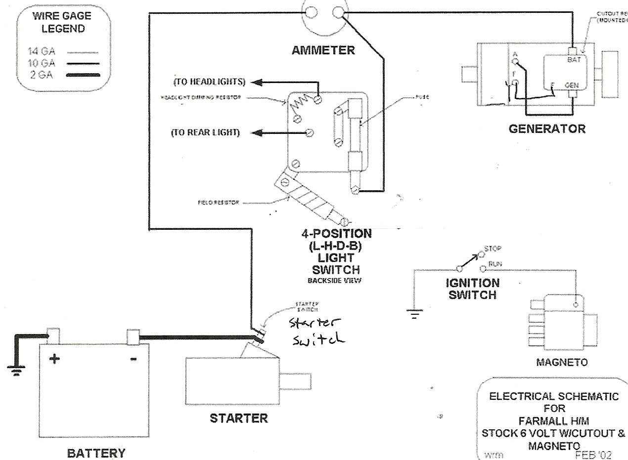 Farmall Light Switch | Wiring Diagram Image
