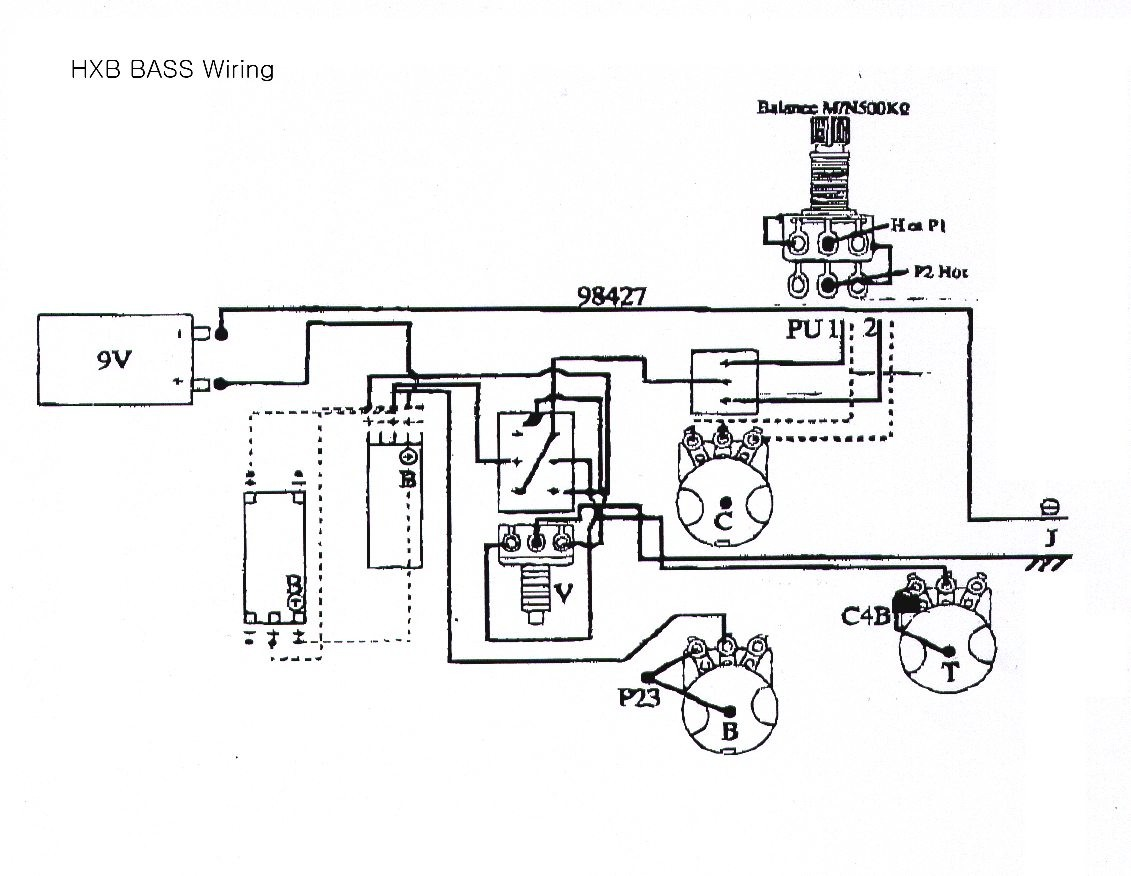 Fancy Squier P Bass Wiring Diagram Photo - Electrical System Block ...