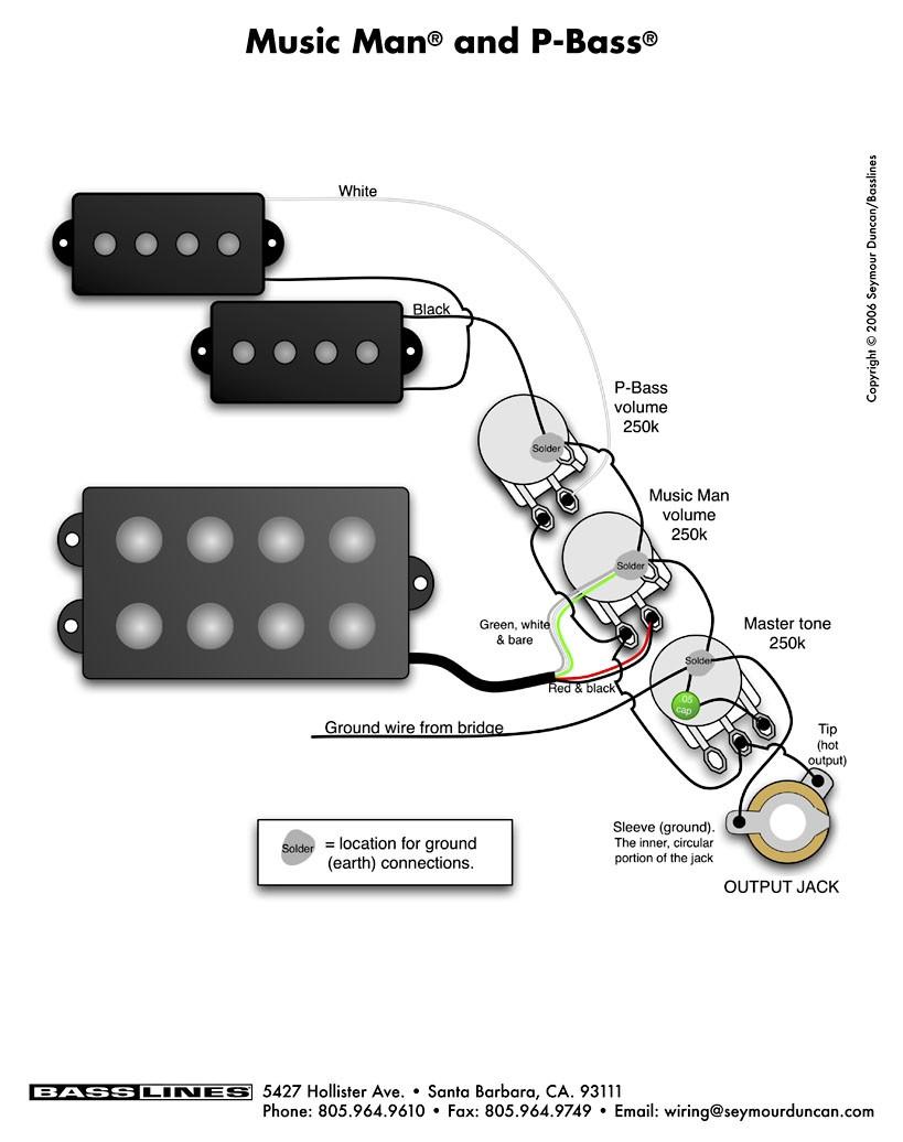 Fender P Bass Wiring Diagram Readingrat Net Inside Pickup Diagrams