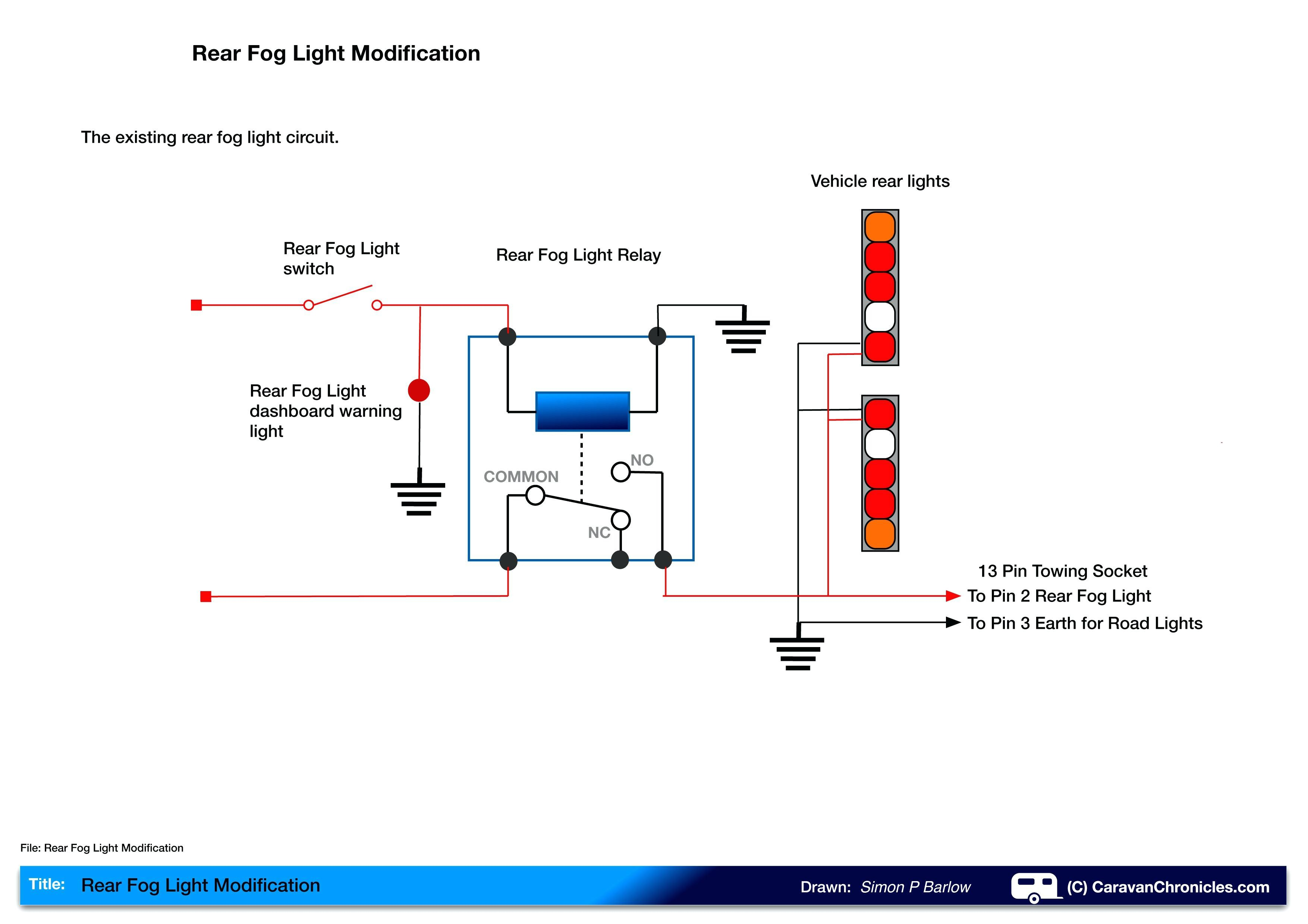Full Size of Three Way Switch Wiring Diagram Two Lights Modify Your Rear Fog Caravan Chronicles