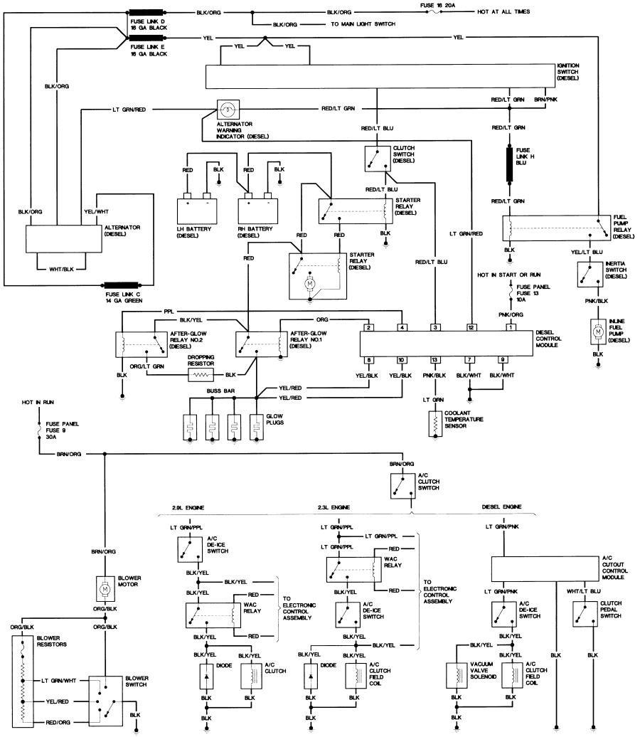 Ford Alternator Wiring Diagram from mainetreasurechest.com