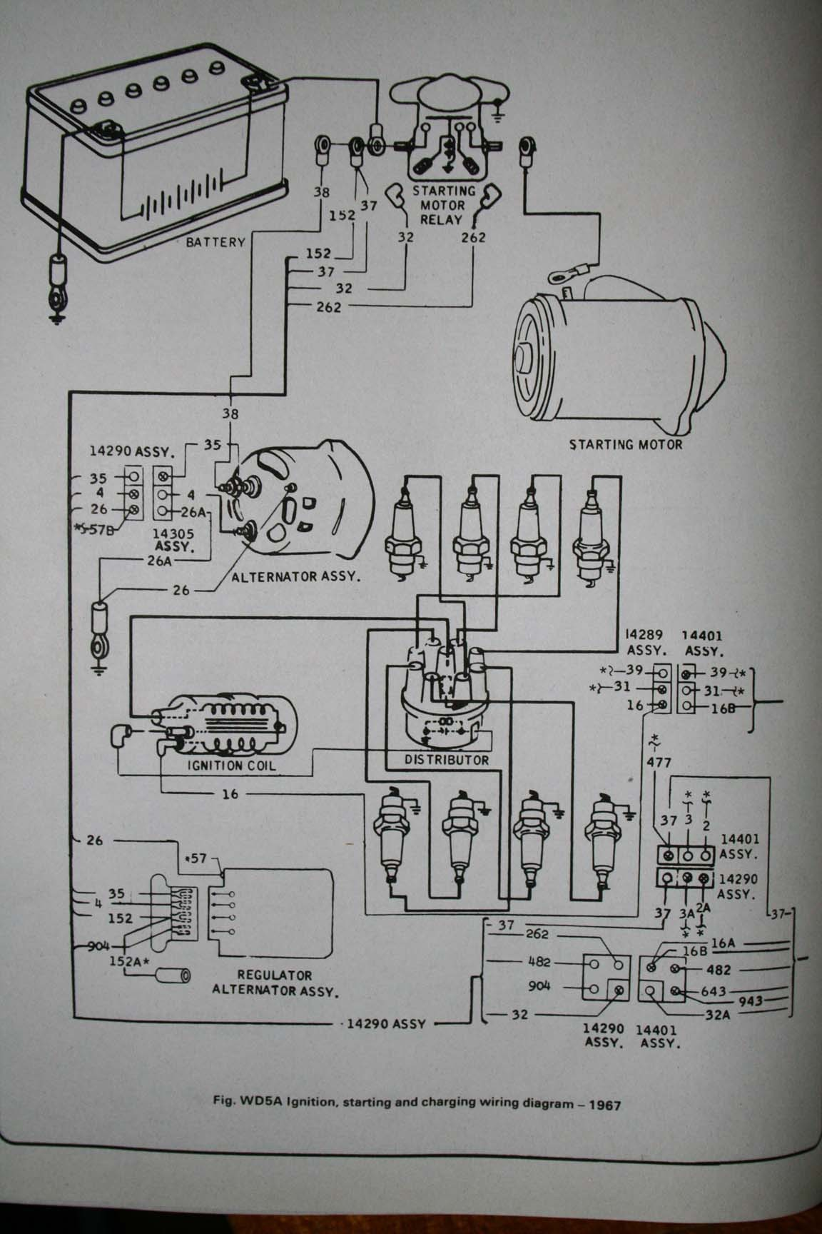 image for larger version Name 1967 Starting and Charging Diagram Views
