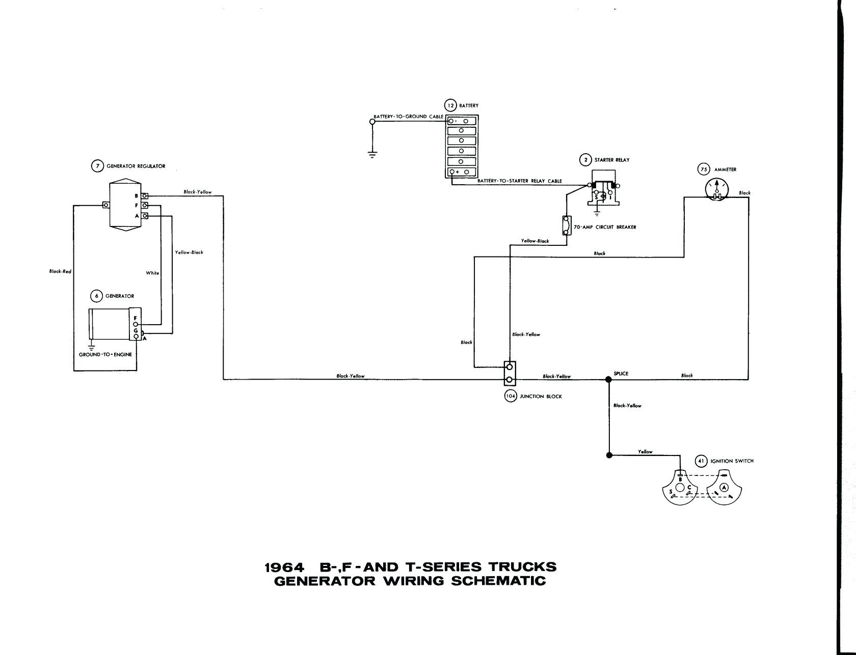 wiring diagram for trailer with electric brakes alternator external voltage regulator 1974 ford sail driv