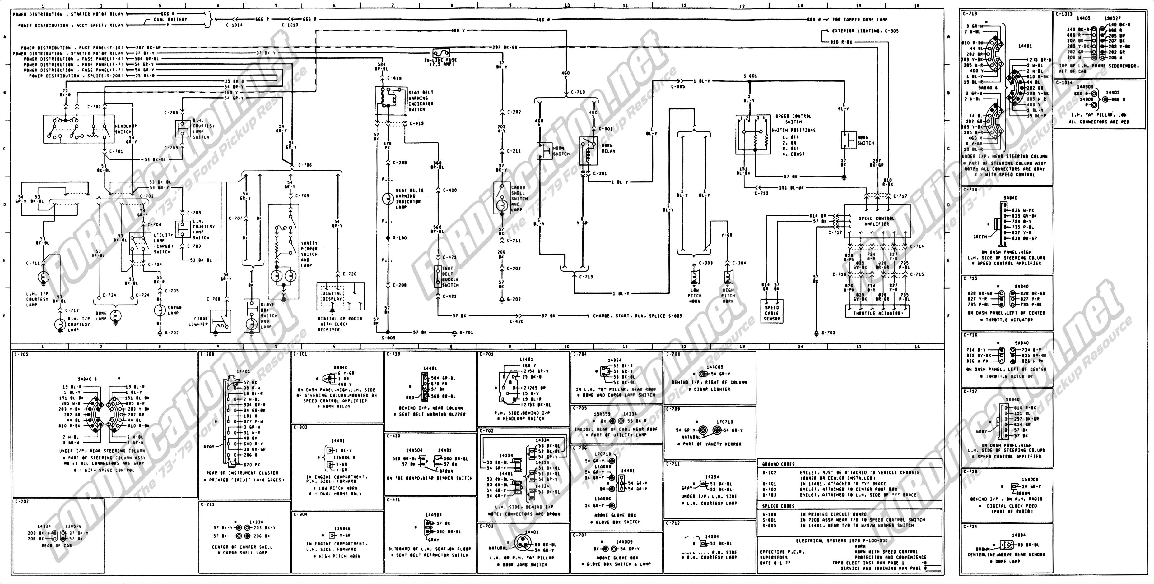 wiring 79master 8of9. 1973 1979 Ford Truck Wiring Diagrams & Schematics  FORDification from ford f150 ...
