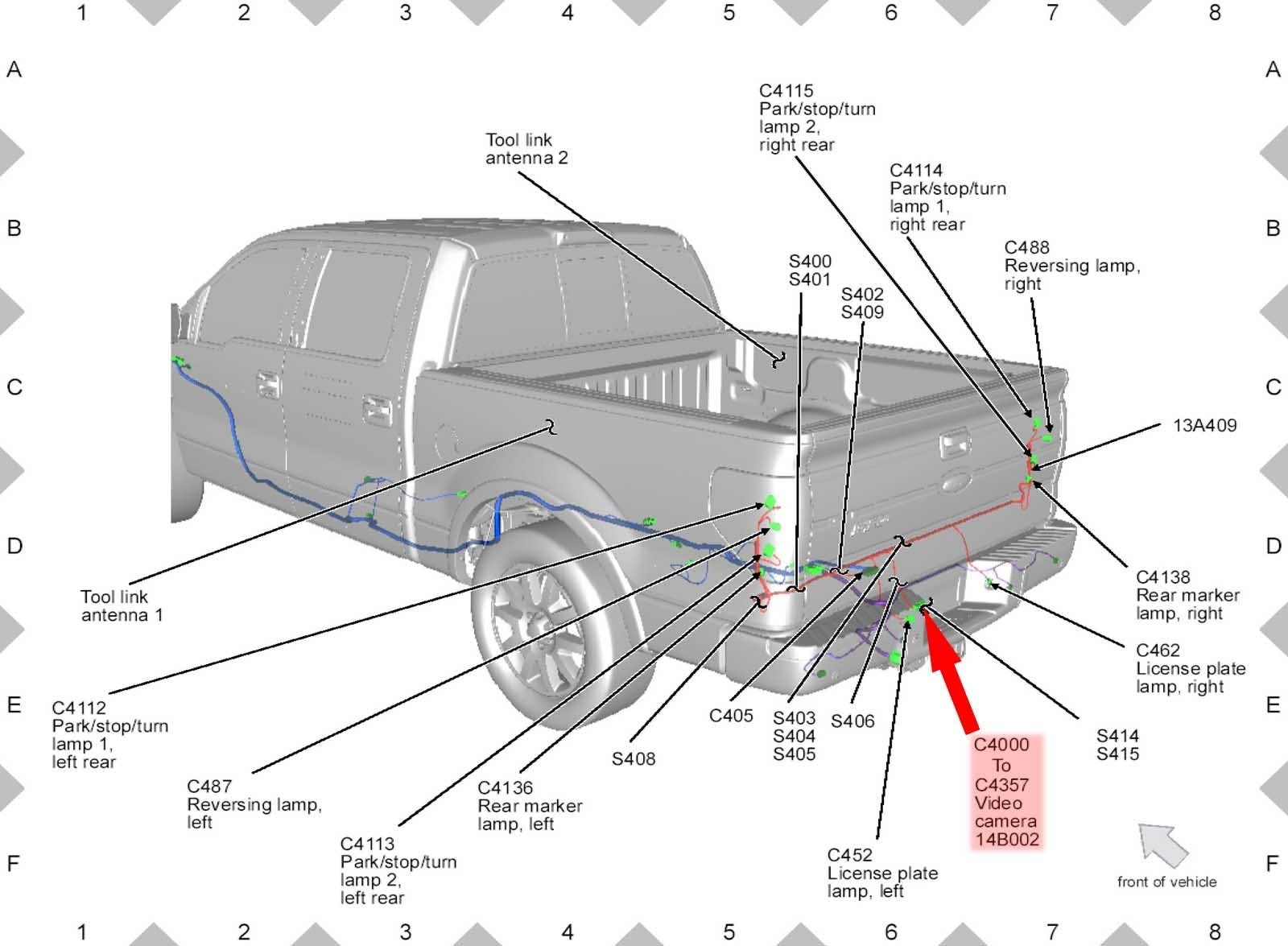 2011 ford f 150 backup camera wiring diagram enthusiast wiring rh rasalibre co