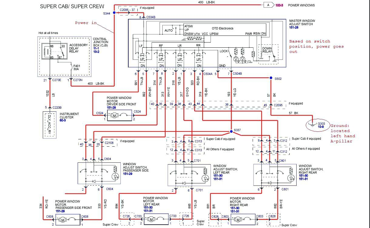 Full Size of 2003 Ford F250 Trailer Wiring Diagram F 250 Fuse Stereo With To Archived