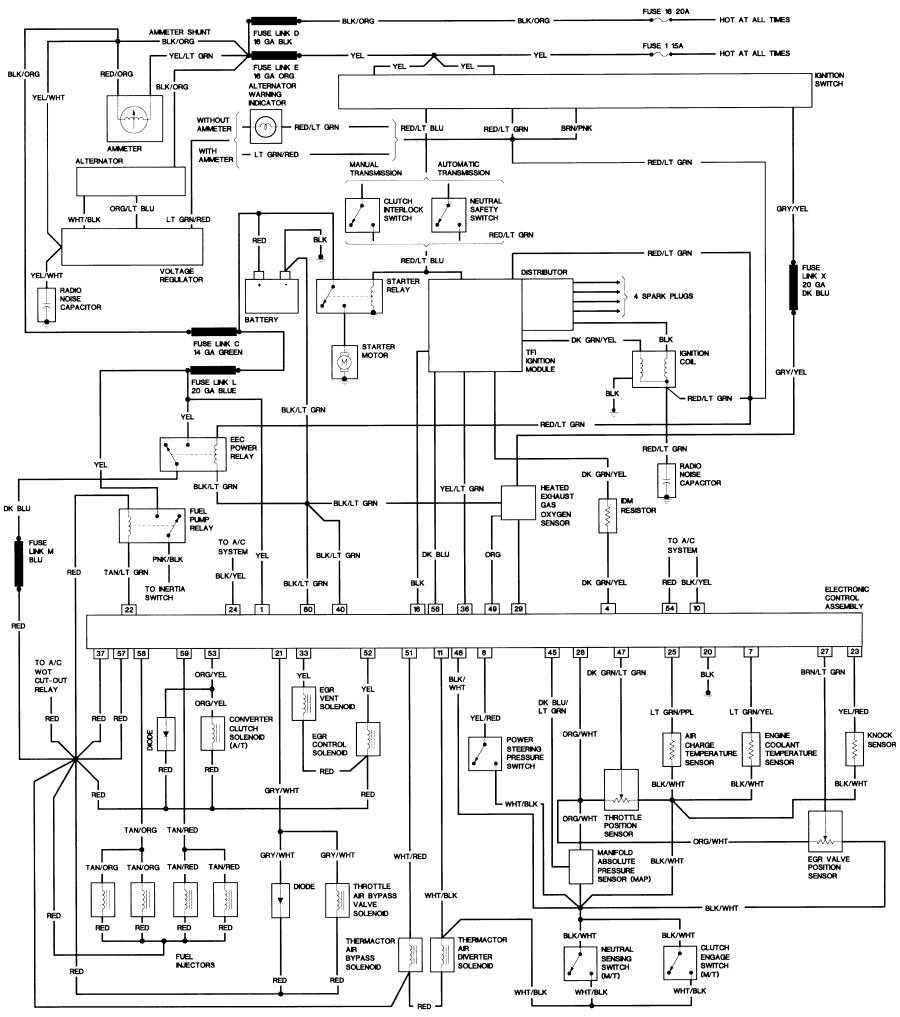 WRG-9423] 1979 Yamaha Xs400 Wiring Diagram on