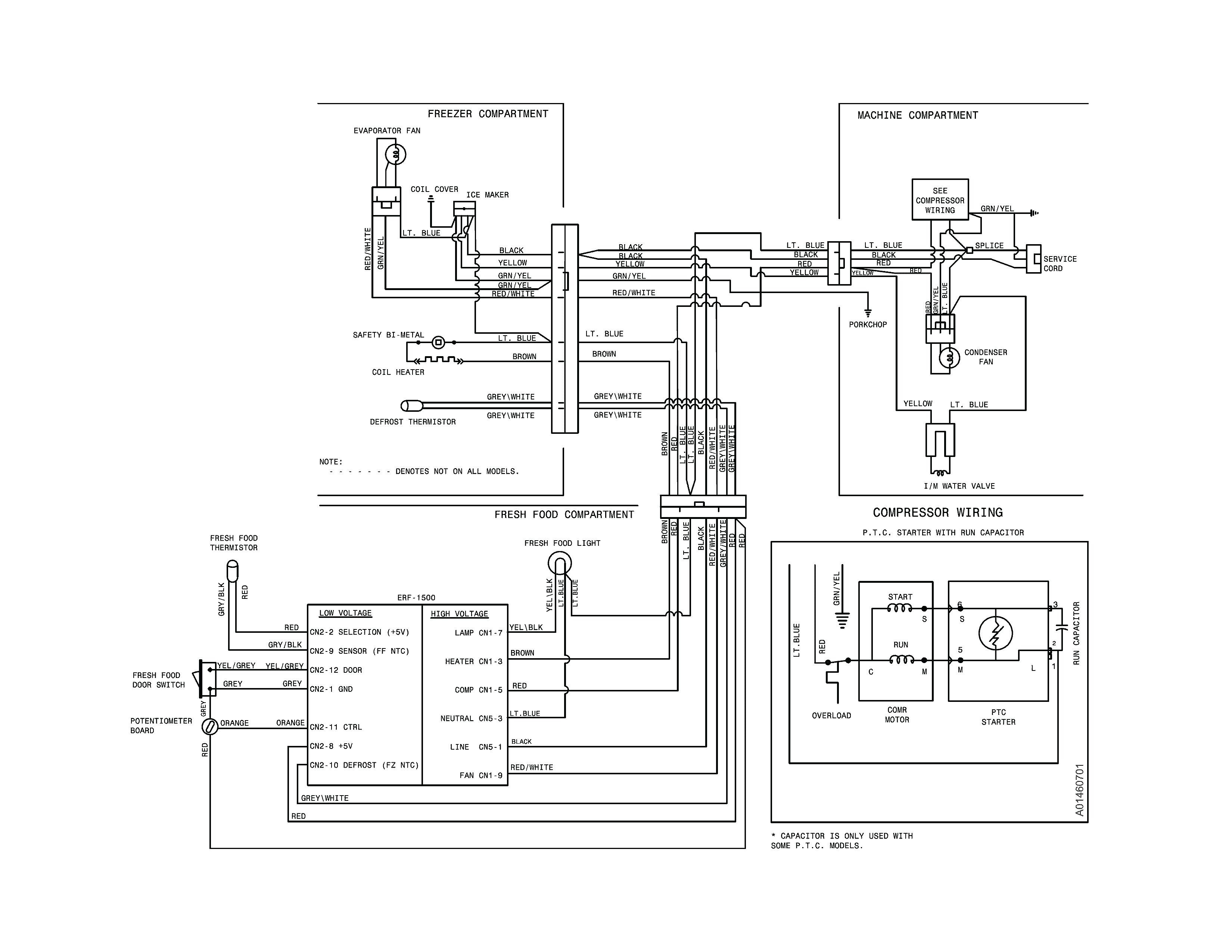 wiring diagram for trailer lights and electric brakes refrigerator best of  frigidaire thermostat par