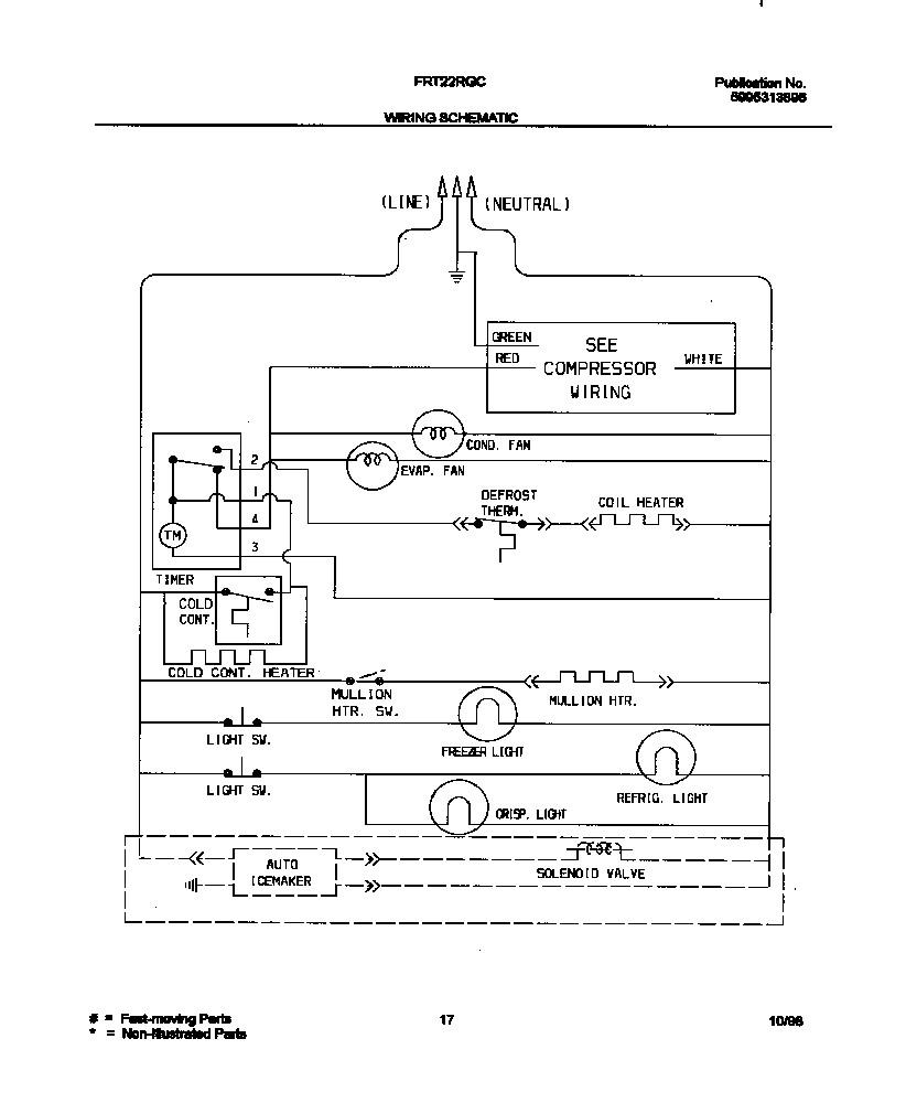 awesome refrigerator wiring diagram frieze