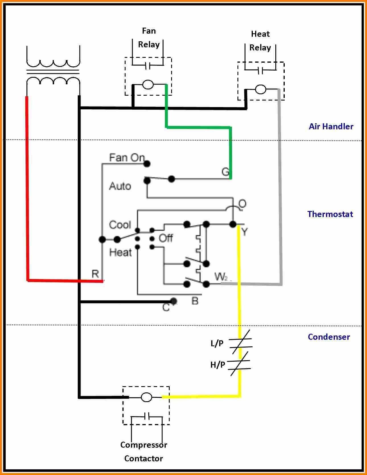 Wiring Diagram Hvac Thermostat Fresh Gas Furnace
