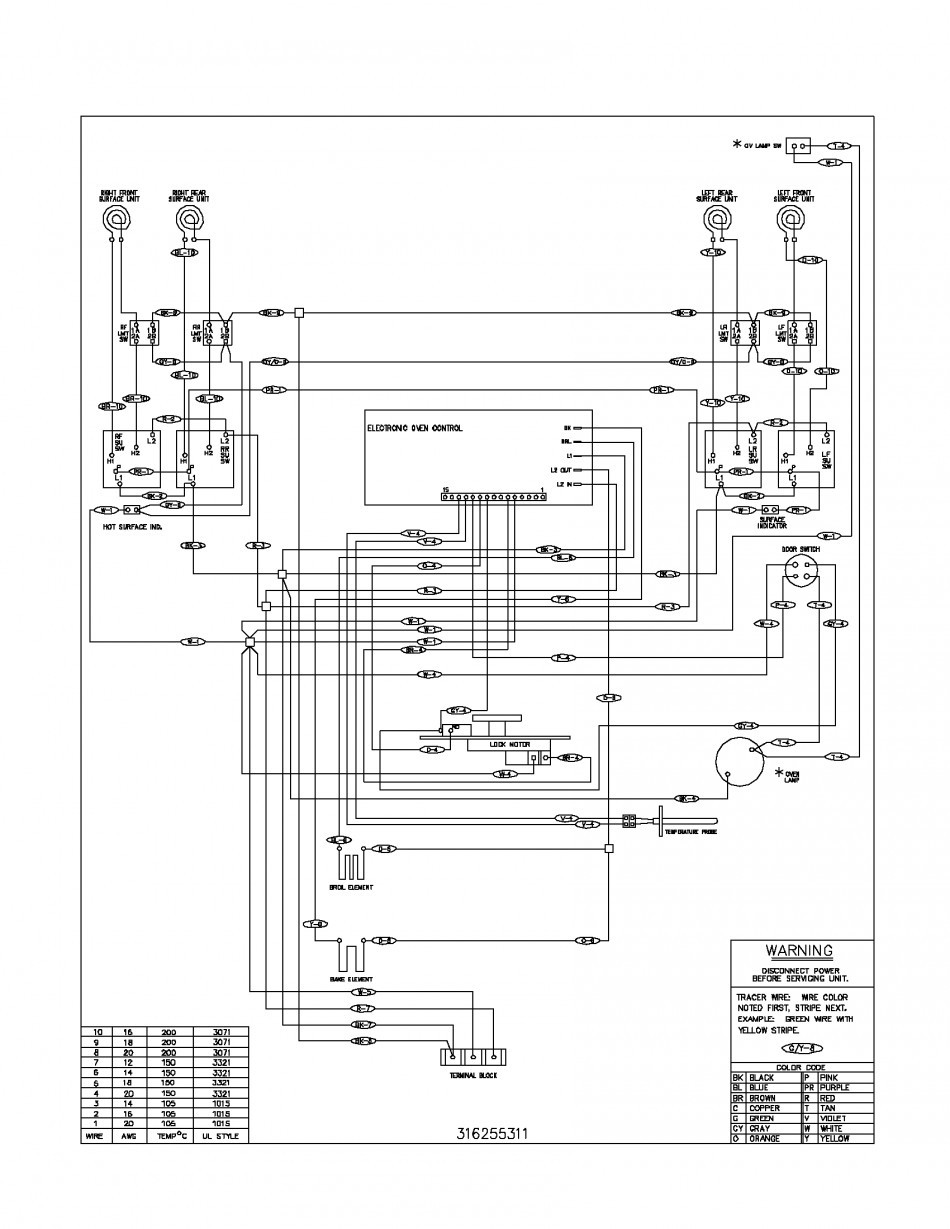 Cool Ge Stove Wiring Schematic Gallery Electrical Diagram que Electric