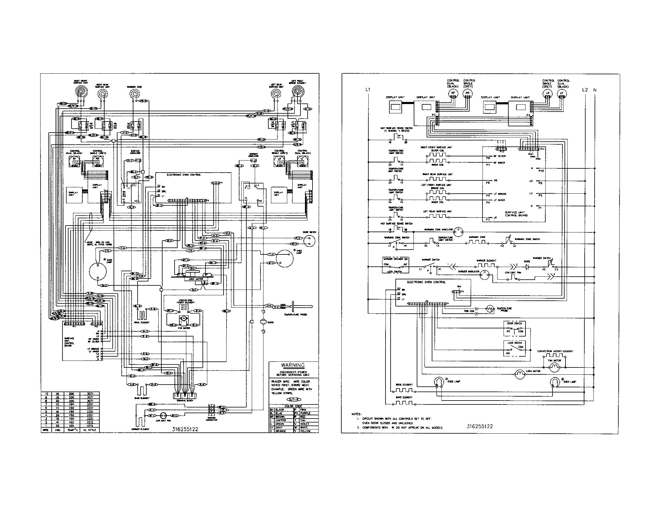 KENMORE ELITE Electric Range Parts Model Sears Outstanding Wiring Diagram