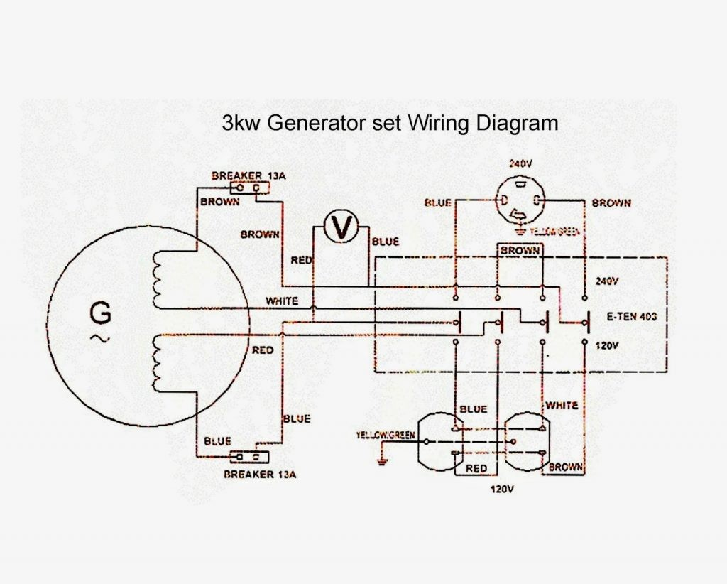 Generator Wiring Diagram Awesome Wiring Diagram Image