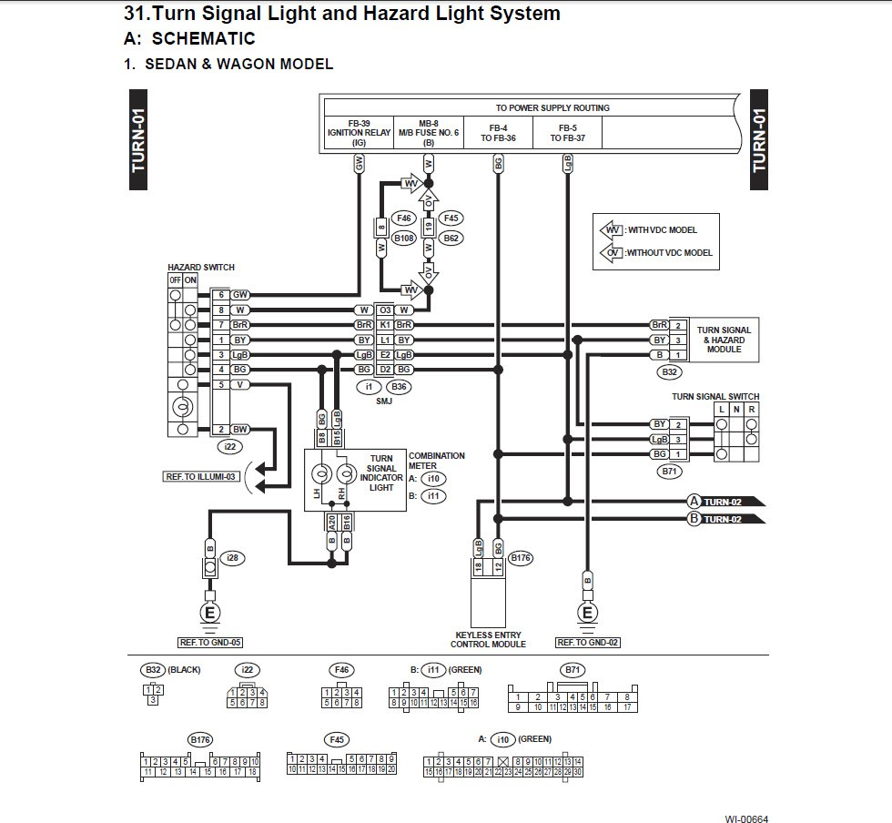 gm turn signal wiring gm turn signal diagram