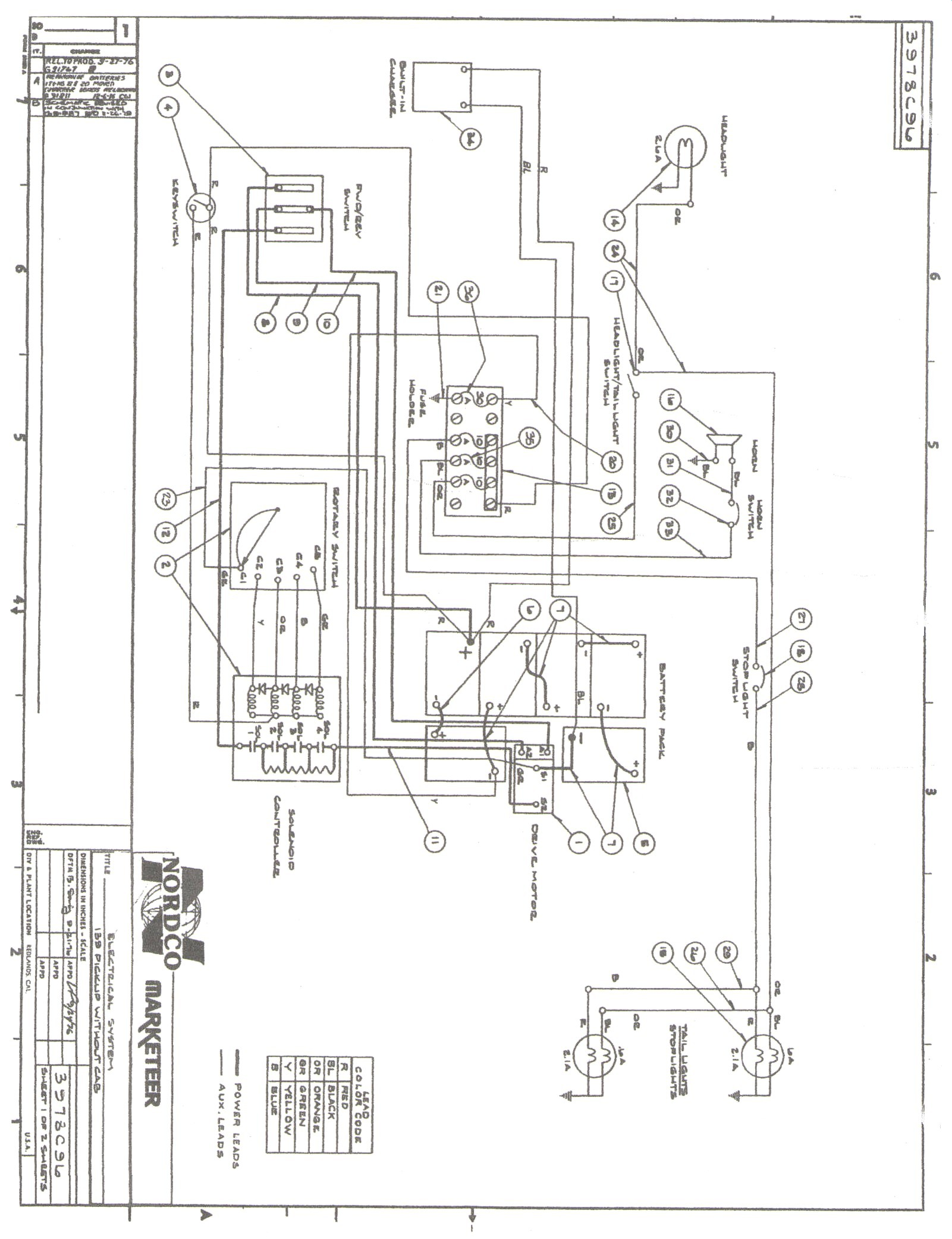 g2 golf cart wiring diagram
