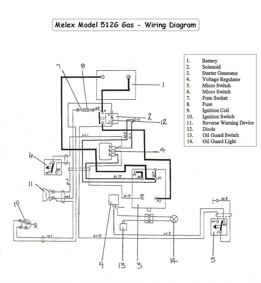 Ez Go Gas Wiring Diagram Golf Cart