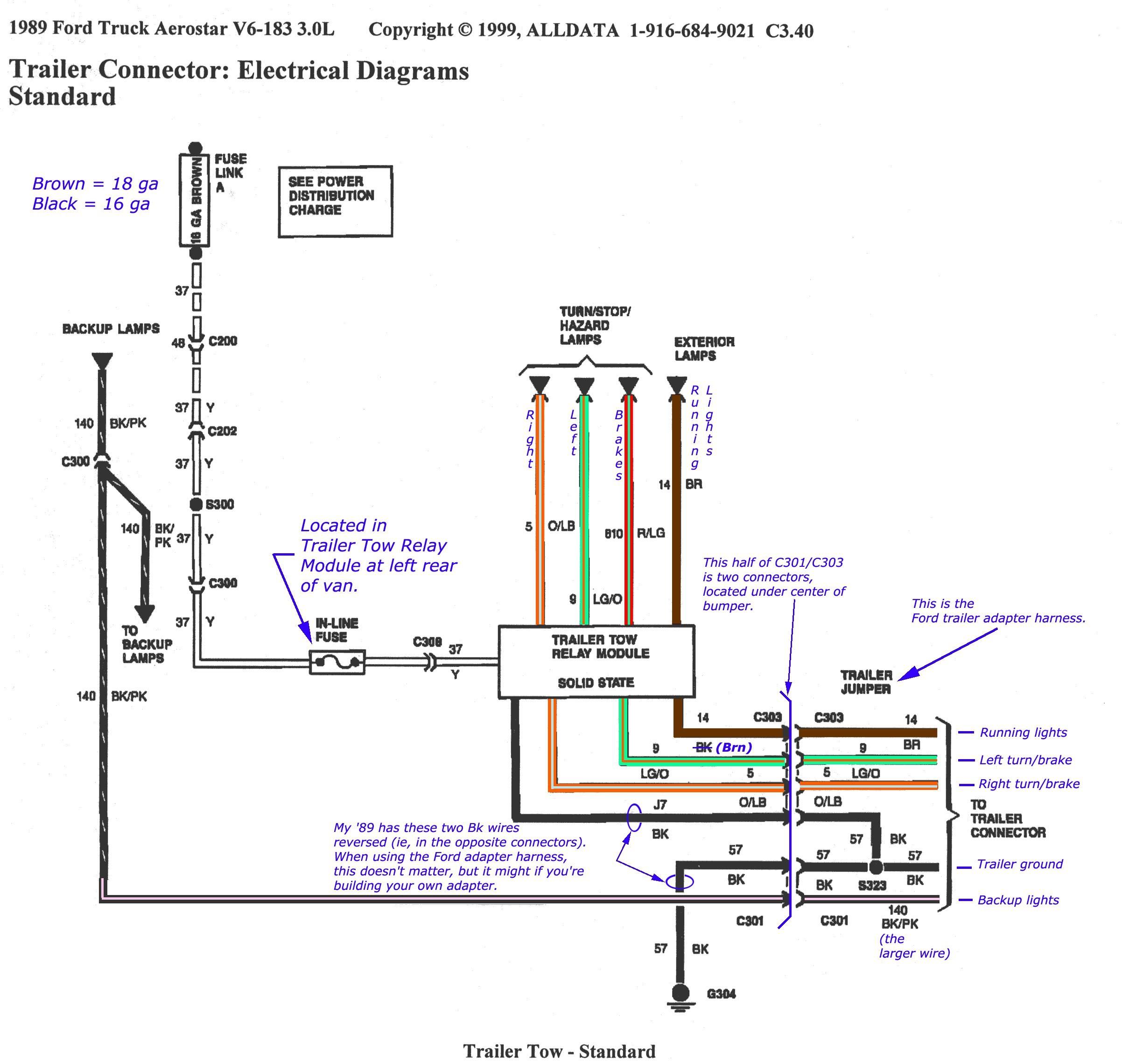 TrailerWiring01b And Ford F350 Trailer Wiring Diagram