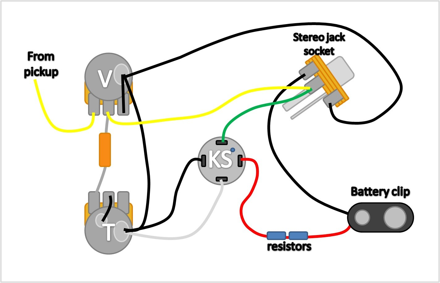 Guitar Killswitch Wiring