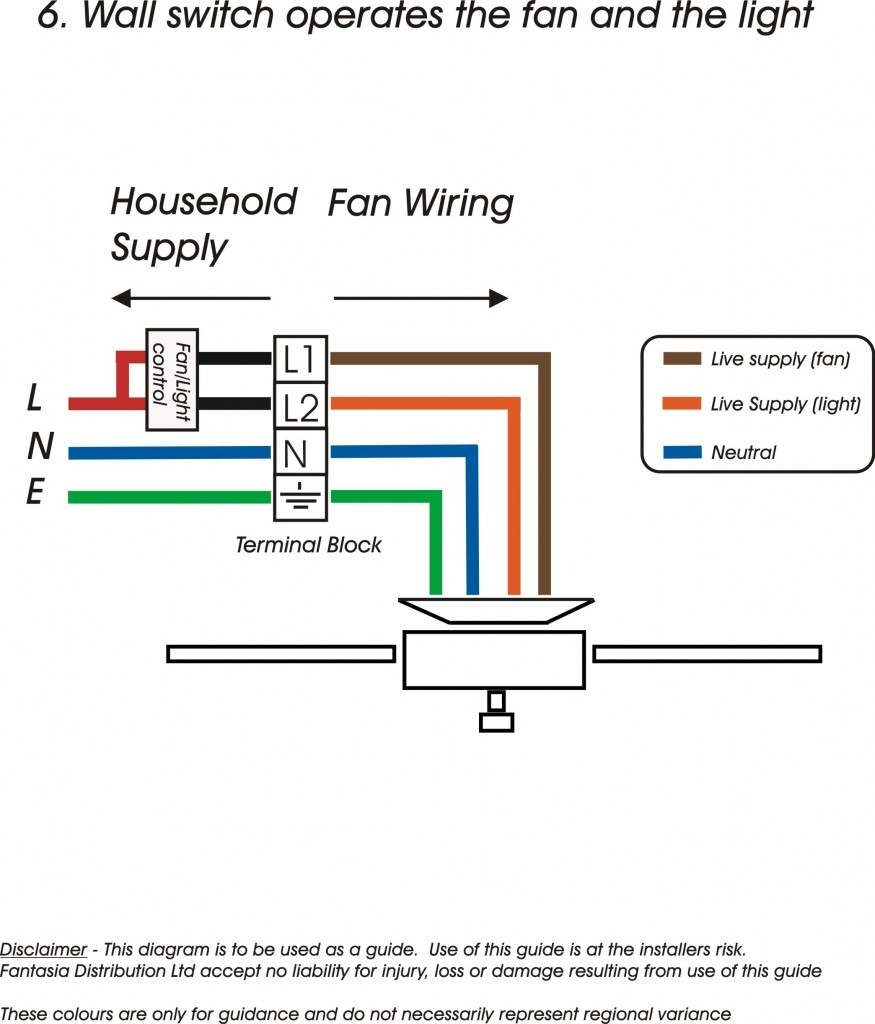 Arlec Ceiling Fan Switch Wiring