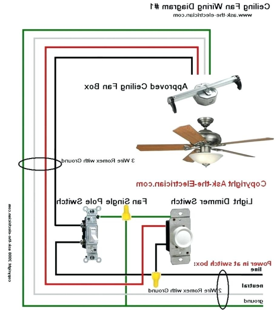 Harbor Breeze Ceiling Fan Wiring Diagram How To Wire A Wall New