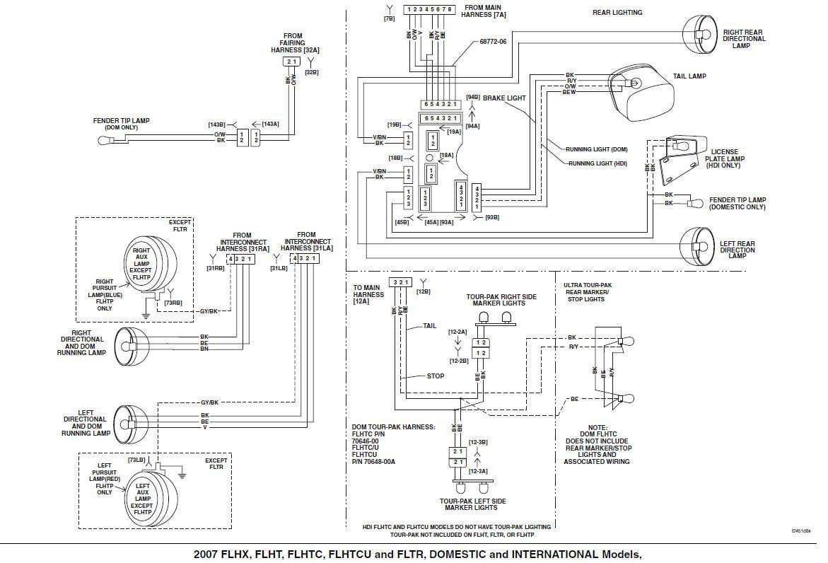 Harley Davidson Wiring Diagram Manual Trusted Diagrams Relay 2014 Tail Light Example Electrical Throtle By